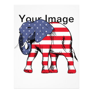 USA Election Elephant  2016 Letterhead