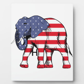 USA Election Elephant  2016 Plaque