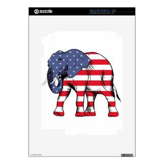 USA Election Elephant  2016 Skins For The iPad 2
