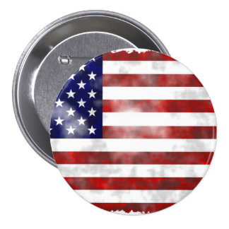 USA Elections Large, 3 Inch Round Button