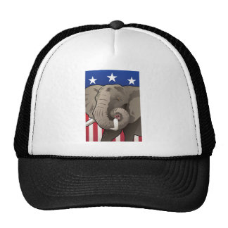 USA Elephant, Republican Pride Trucker Hat