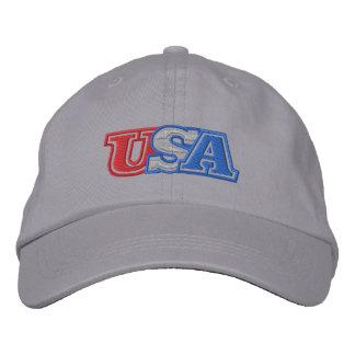 Usa Embroidered Hats