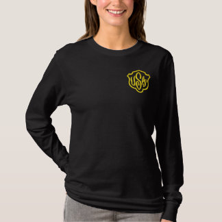USA EMBROIDERED LONG SLEEVE T-Shirt