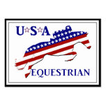 USA Equestrian Business Cards