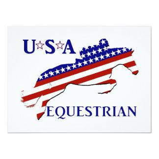 USA Equestrian Card