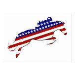 USA Equestrian Rider Business Card Template