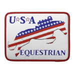 USA Equestrian Sleeve For MacBook Pro