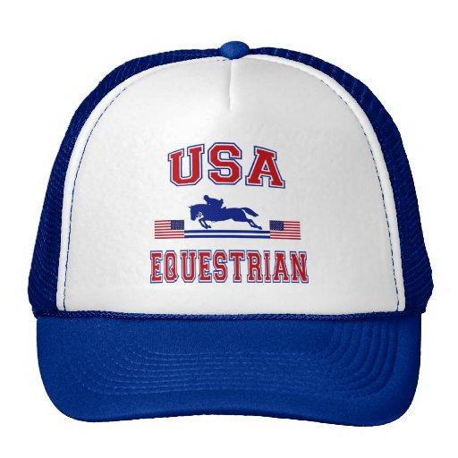 USA Equestrian Trucker Hat