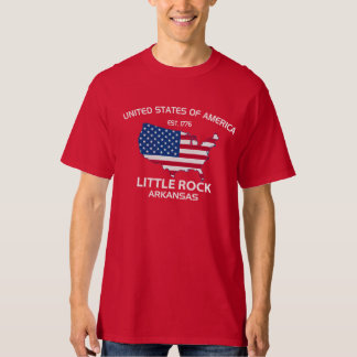 USA EST. 1776 LITTLE ROCK ARKANSAS TEE