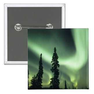 USA, Fairbanks area, Central Alaska, Aurora 2 Button