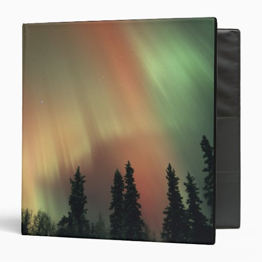 USA, Fairbanks area, Central Alaska, Aurora 3 Binder