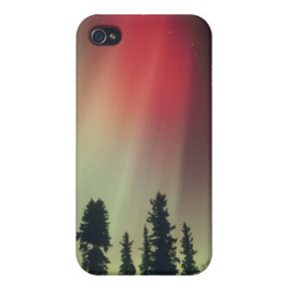 USA, Fairbanks area, Central Alaska, Aurora Covers For iPhone 4