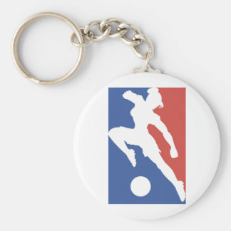 USA Female Soccer Tshirts and Gifts Keychain