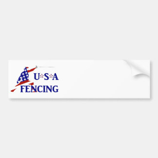 USA Fencing Bumper Sticker