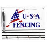 USA Fencing Dry Erase Board