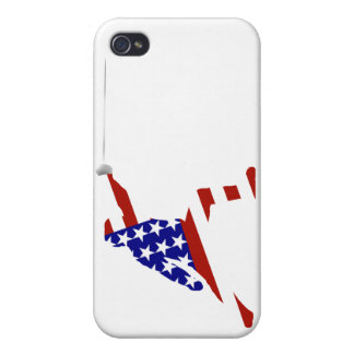 USA Fencing Fencer iPhone 4 Cases