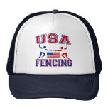 USA Fencing Trucker Hat