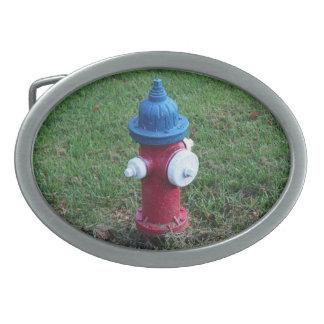 USA Fire Hydrant Belt Buckle