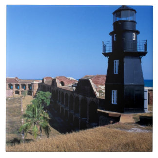 USA, FL, Florida Keys, Fort Jefferson, 1846, 2 Ceramic Tile