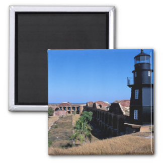 USA, FL, Florida Keys, Fort Jefferson, 1846, 2 Magnet