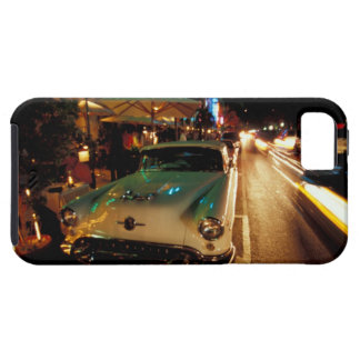 USA, FL, Miami, South Beach at night. 2 iPhone 5 Cover