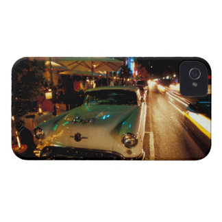 USA, FL, Miami, South Beach at night. 2 iPhone 4 Case-Mate Cases