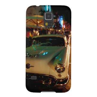 USA, FL, Miami, South Beach at night. 2 Galaxy S5 Cover