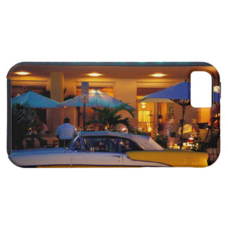 USA, FL, Miami, South Beach at night. iPhone 5 Cover