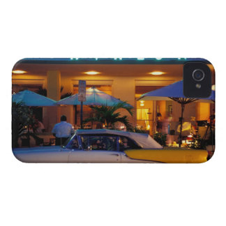 USA, FL, Miami, South Beach at night. iPhone 4 Cover
