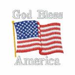USA Flag 1R GBA Embroidered Polo Shirt