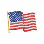 USA Flag 1W Polos