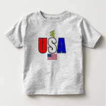 USA Flag 6 Toddler T-shirt