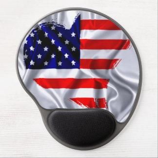 Usa flag. alfombrillas de ratón con gel