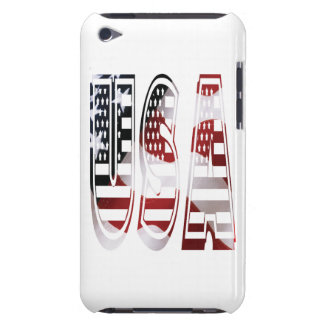 USA Flag American Logo iPod Case-Mate Cases