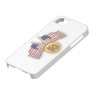 USA Flag & American Medal for US Independence Day iPhone 5 Cover