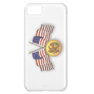 USA Flag & American Medal for US Independence Day iPhone 5C Cases