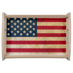USA Flag Americana Premium Serving Tray