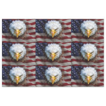 USA Flag and Eagle Tissue For Gift Wrap Tissue Paper