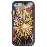 USA Flag and Fireworks iPhone 6 Case