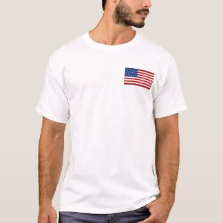 USA Flag and Map T-Shirt