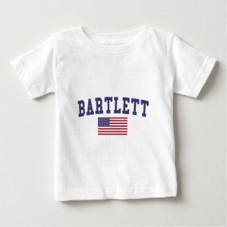 USA Flag Bartlett TN Baby T-Shirt