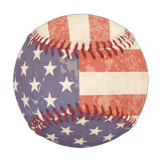 USA Flag Baseball