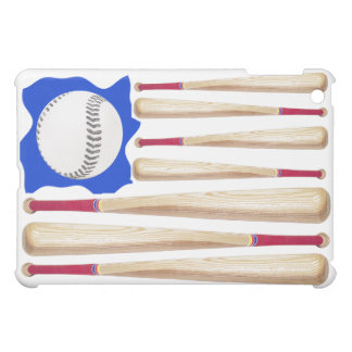 USA Flag Baseball Theme Case For The iPad Mini