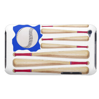 USA Flag Baseball Theme Case-Mate iPod Touch Case