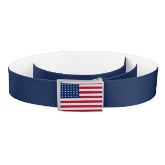 USA Flag Belt