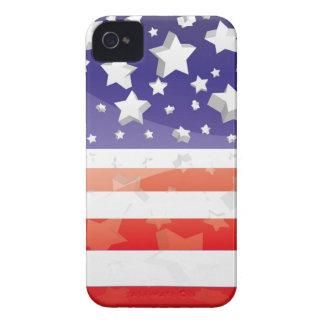 USA Flag BlackBerry Bold Case
