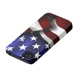 USA Flag Blackberry Bold/Curve Case-Mate Case