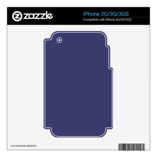 USA Flag Blue Royal Blue Deep Blue iPhone 3GS Skins