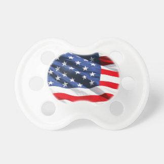 USA Flag BooginHead Pacifier