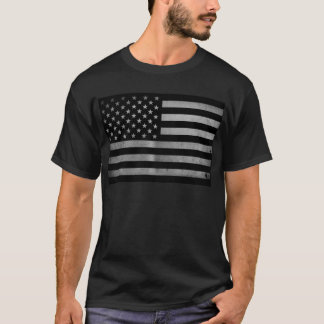 USA Flag BW T-Shirt